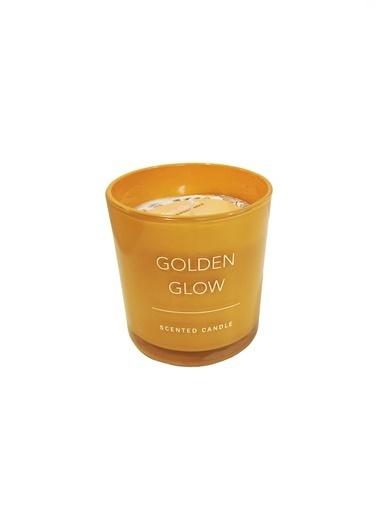 LWP Shop Golden Glow Orta Boy Limon ve Leylak Kokulu Mum Sarı
